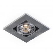 QAZQA Spot à encastrer carré en aluminium - Qure