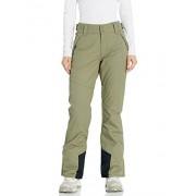 BILLABONG Malla Pantalones de Snowboard para Mujer, Verde Oliva, M