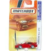 Mattel Matchbox 2007 MBX Metal 1:64 Scale Die Cast Car # 3 - Red Sport Coupe Porsche 911 GT3