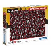 Puzzle 1000 piese Clementoni - Impossible La Casa De Papel