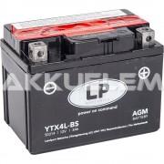 Landport YTX4L-BS motorkerékpár akkumulátor 12V 3Ah JOBB+