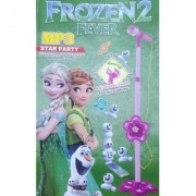 Frozen Fever Microphone With MP3 Function + Adjustable Height (Pink)