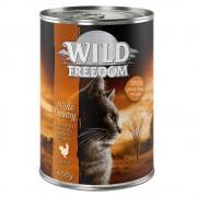 24x400g Wild Freedom Adult Wide Country frango puro