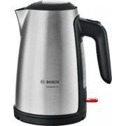 Bosch TWK6A813 Wasserkocher 2.400W. 1,7 Liter Edelstahl/schwarz