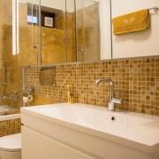 Mozaic Travertin Yellow Polisat 2.3 x 2.3 cm