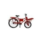 Bicicleta 26 Super Cargo Freios V-Brake - Master Bike - Vermelho
