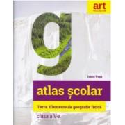 Atlas geografic scolar Clasa a V-a - Ionut Popa