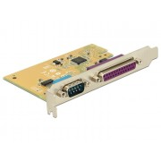 DeLock PCI Express Card > 1 x Serial + 1 x Parallel 89446
