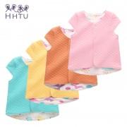 HHTU Child Cotton Outerwear Waistcoat Casual Clothes Baby Vest for Children Clothing Warm Vest Spring Autumn