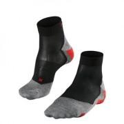 Falke RU5 Lightweight Short Men Running Socks Black