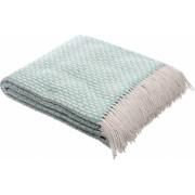 Patura lana merinos Valentini Bianco Rogojka densitate 385 g/m2 vernil 140 x 200 cm