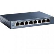Суич TP-Link TL-SG108, 1000Mbps, 8Port