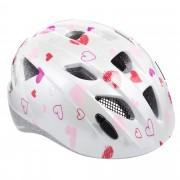 Alpina XIMO Kinder - Fahrradhelm - weiß pink-rosa