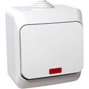 CEDAR PLUS Váltókapcsoló jelzőfénnyel 16 A IP44 WDE000561 - Schneider Electric