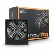 """Sursa FORTRON 600W (real), Hyper. K, fan 12cm, 85% eficienta, 2x PCI-E (6+2), 6x SATA *bulk* """"HYPER K 600"""""""
