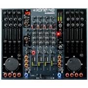 Mezcladora Allen&Heath XONE4D 4 Canales Negro