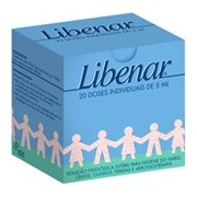 Solução fisiológica estéril para limpeza dos nariz e olhos 20x5ml - Libenar