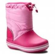 Апрески CROCS - Crocband Lodgepoint Boot K 203509 Candy Pink/Party Pink