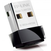 Нано адаптер TP LINK TL-WN725N, USB, Realtek, 2.4Ghz, 802.11n/g/b