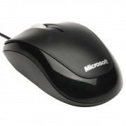 Mouse Microsoft Wired optic Compact Optical for business negru