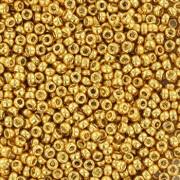 Miyuki seed beads - Duracoat Galvanized Gold 15/0, 10 gram