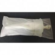 Prorisk Sac de couchage jetable t.90x210cm 1 personne eco Blanc 0.000000