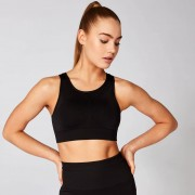Myprotein Shape Seamless Ultra Sports Bra – Schwarz - XL