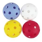 DOMAIN Florbalové míčky 4ks barevné Spokey