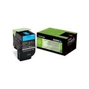 Lexmark 802HC (80C2HC0) toner cian XL