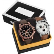 TRUE CHOICE NEW 2 SMART SELLING MEN WATCHES WITH 6 MONTH WARRANTY