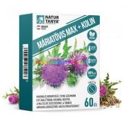 Szerves Máriatövis 60 db tabletta Kolinnal - Natur Tanya