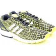 ADIDAS ORIGINALS ZX FLUX TECHFIT Men Sneakers For Men(Green, Grey)