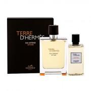 Hermes Terre D´Hermès Eau Intense Vétiver confezione regalo eau de parfum 100 ml + doccia gel 80 ml uomo