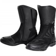 FLM Motorrad-Stiefel lang Motorrad-Schuh FLM Sommer Tour Stiefel 1.0 schwarz 43 schwarz