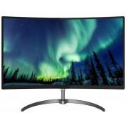 "Monitor LCD VA LED Philips 31.5"" 328E8QJAB5/01, Full HD (1920 x 1080), VGA, HDMI, DisplayPort, Ecran curbat, Boxe, 5 ms (Negru)"