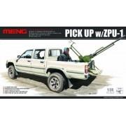 Pick Up W/Zpu-1 (Plastic Model)