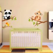 Stickere perete copii Crengute - 170 x 113 cm