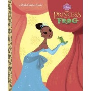 The Princess and the Frog Little Golden Book (Disney Princess and the Frog) by Random House Disney