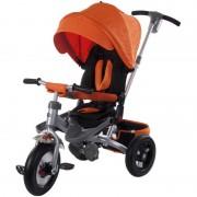 Tricicleta multifunctionala Little Tiger T400 Sun Baby Portocaliu