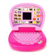 Charlies Toy Factory Educational Computer With Led Screen mini laptop Toy For Kids (Multicolor)