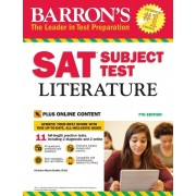 Barron's SAT Subject Test Literature, 7th Edition, Paperback