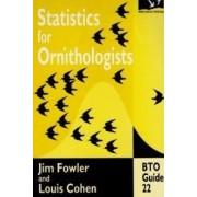 Statistics for Ornithologists