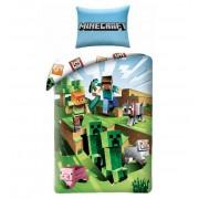 Minecraft ágyneműhuzat játék 140x200cm 70x90cm