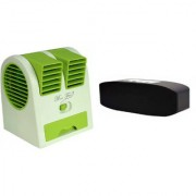 XAZ_753J_Air conditioner Mini cooler and H 11 bluetooth speaker compatible for LENOVO vibe k5( Air conditioner Mini cooler|| Mini cooler|| Mini Air conditioner || Mini AC || Portable Fan|| bluetooth Speaker)
