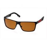 Fastrack Brown Polarized Square Unisex Sunglasses