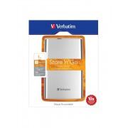 Hard disk extern Verbatim Store n Go 1TB 2.5 inch USB 3.0 silver