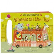 Wheels on the Bus: Board Book with Handle, Hardcover/Scarlett Wing