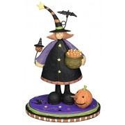 Williraye Witchful Thinking Witch With Candy Figurines