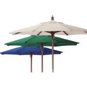 Parasol madera 300 cm diametro
