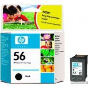 HP 56 Black Inkjet Print Cartridge, 19ml (C6656AE)